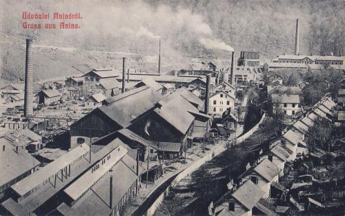 Anina:gyárak.1908