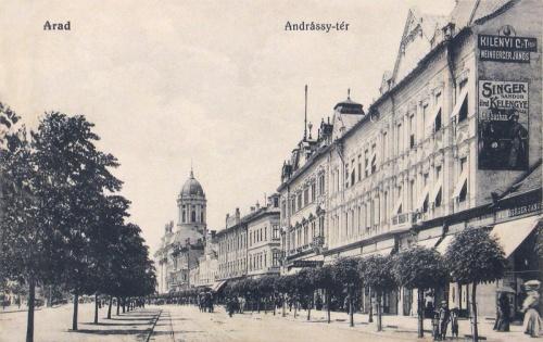 Arad:Andrássy tér.1912