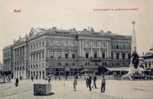 Arad:szinház ás 1848 erekje múzeum.1908