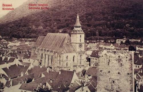 Brassó:Fekete templom.1912