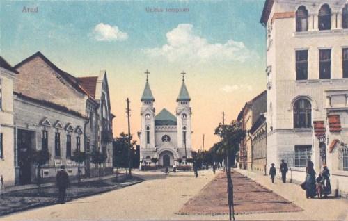 Arad:unitárius templom.1913