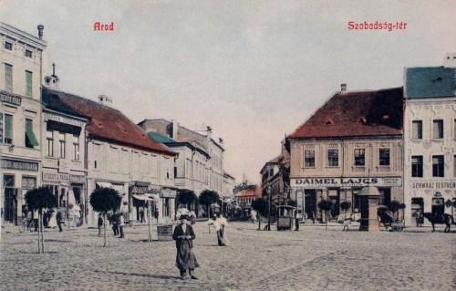 Arad:Szabadság tér.1908