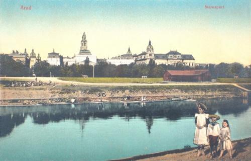 Arad:Maros part.1912