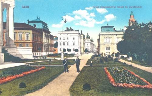 Arad:Felső Kereskedelmi iskola.1915