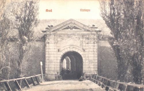 Arad:várkapu.1908