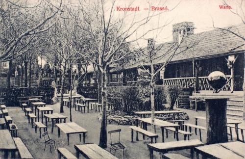 Brassó:étterem udvara.1909