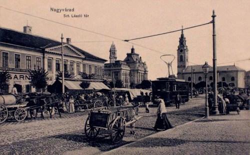 Nagyvárad:szent László tér.1912
