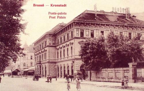 Brassó:posta palota.1912