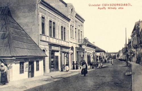Csikszereda:Apaffi Mihály utca.1911