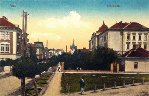 Arad:Tanitóképző iskola.1913