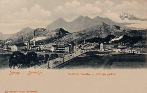 Derestye:Czell féle gyárak.1903