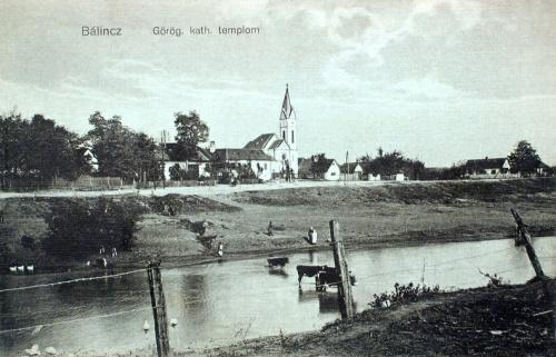 Bálincz:görög katolikus templom.1912