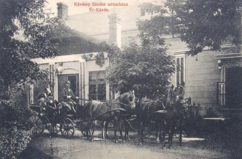 Érkávás:Kávássy Sándor udvarháza.1910