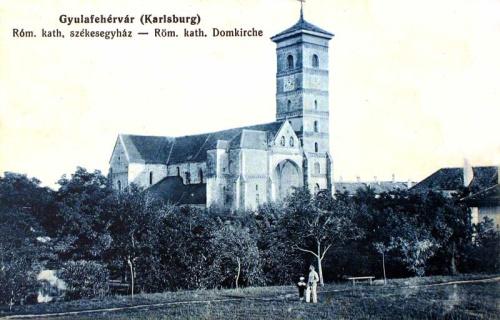 Gyulafehérvár:katolikus székesegyház.1912