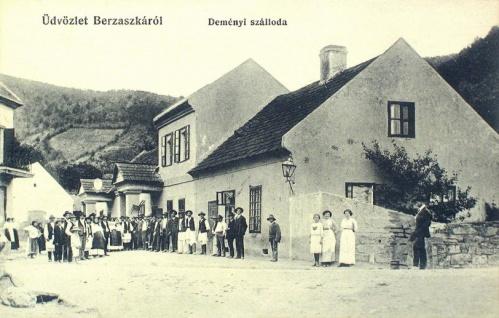 Berzászka:Deményi szálloda.1912