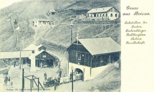 Boicza:első Erdélyi aranybánya.1899