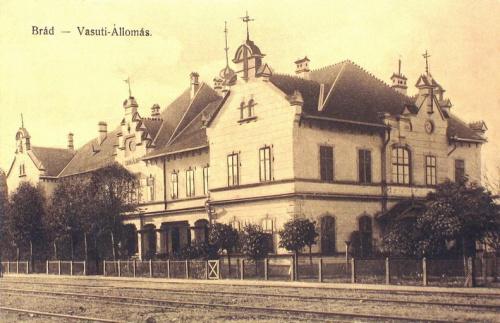 Fenyőfalva (Brád):vasútállomás.1912