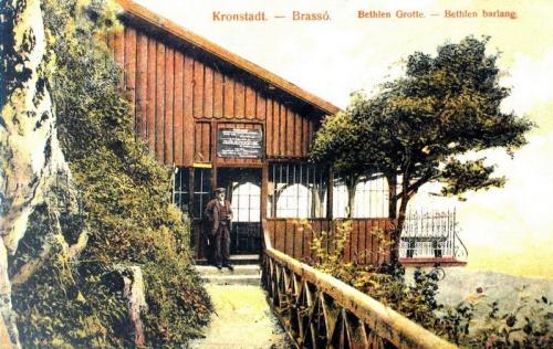 Brassó:Bethlen barlang,vendéglő.1910