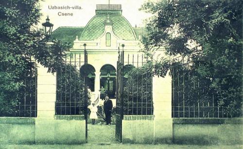 Csene:Uzbasics villa.1911