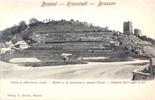 Brassó:Fekete-és Fehér torony bástyák.1903