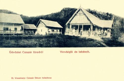 Kézdivásárhely:Csiszár-füred,vendéglő és lakások.1901