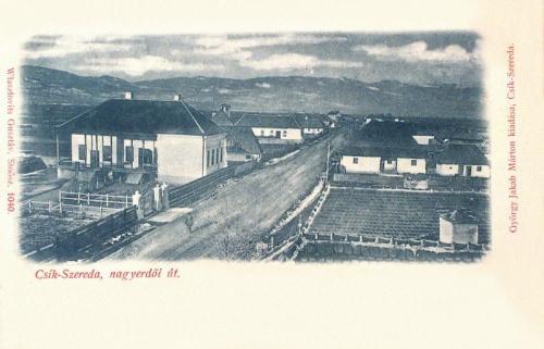Csikszereda:1901