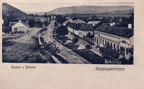 Görgényszentimre:főtér.1904
