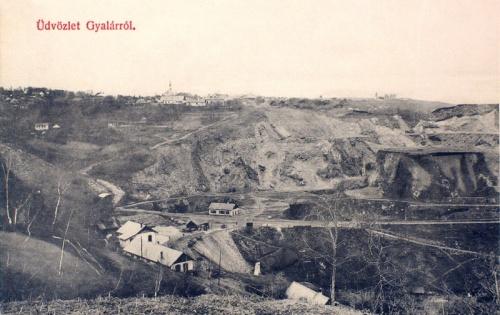 Gyalár:bánya.1909