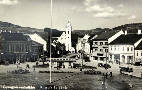 Gyergyószentmiklós:Kossuth tér.1941