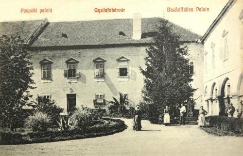 Gyulafehérvár:püspöki palota.1908