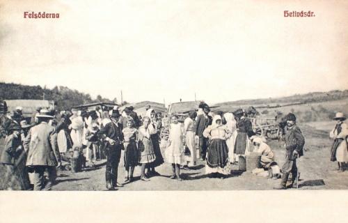 Felsőderna:hetivásár.1907