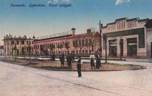 Temesvár:Turul cipőgyár R.T.1916