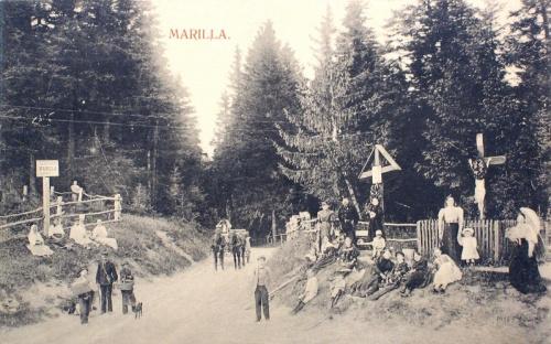 Marilla:fürdő felé vezető út.1911