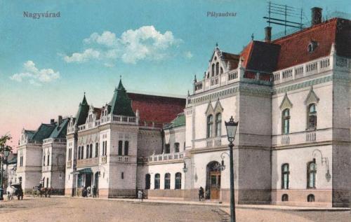 Nagyvárad:vasútállomás.1914