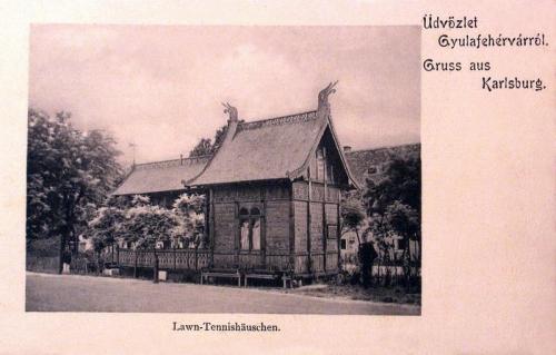 Gyulafehérvár:tenisz ház.1904