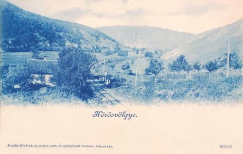 Körös:völgy a vasúttal.1899
