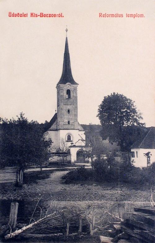 Kisbacon:református templom.1908