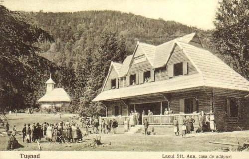 Szent Anna tó:kápolna és menedékház.1927