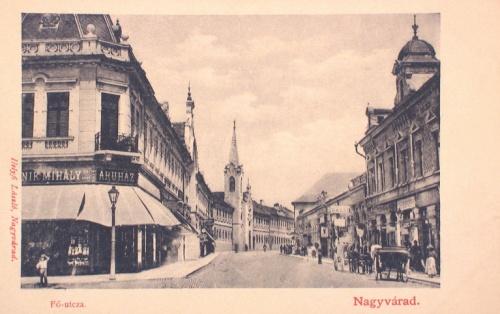 Nagyvárad:fő utca.1901