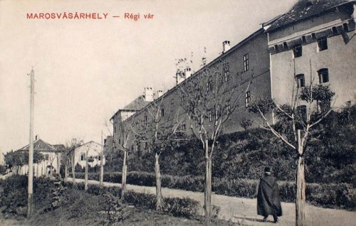 Marosvásárhely:régi vár és laktanya.1911