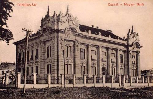 Temesvár:Osztrák-Magyar Bank.1914