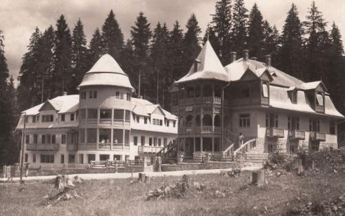 Borszékfürdő:Emil és Dora villák.1938