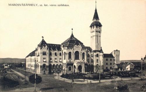 Marosvásárhely:Szabad Királyi Város székháza.1911
