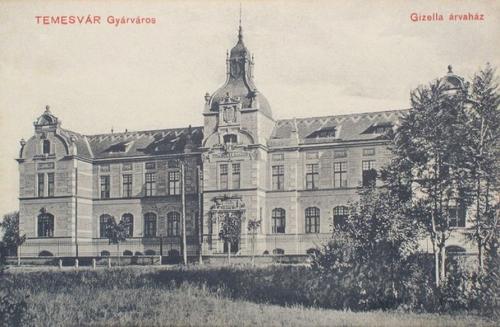 Temesvár:Gizella Árvaház.1910