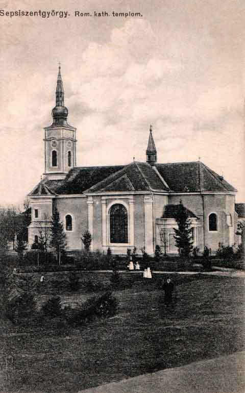 Sepsiszentgyörgy:katolikus templom.1911