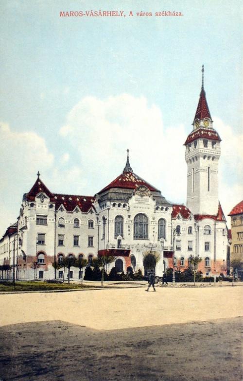 Marosvásárhely:városháza.1915