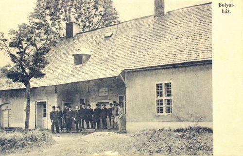 Marosvásárhely,Bolyai ház, 1908