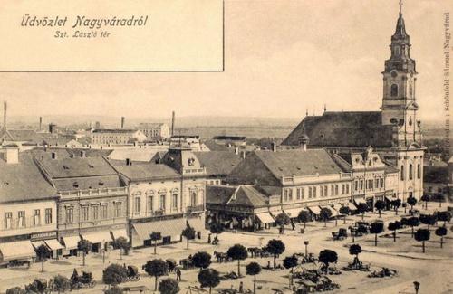Nagyvárad:Szent László tér.1901