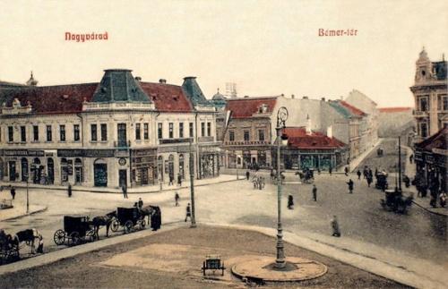 Nagyvárad:Bémer tér.1908