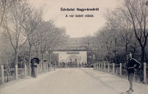Nagyvárad:a vár keleti oldala.1912